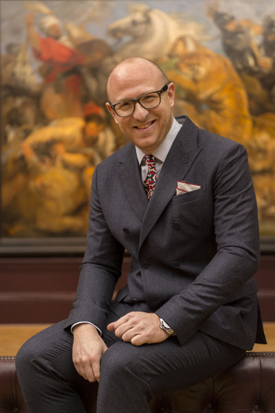 Arturo Galansino, Curator - Rubens and His Legacy at The Royal A