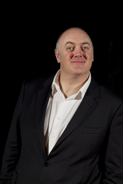 Dara Ó Briain, Irish comedian and television presenter.