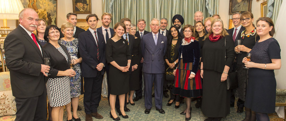 The Prince of Wales's Foundation Romania reception at Clarence House with HRH Prince of Wales