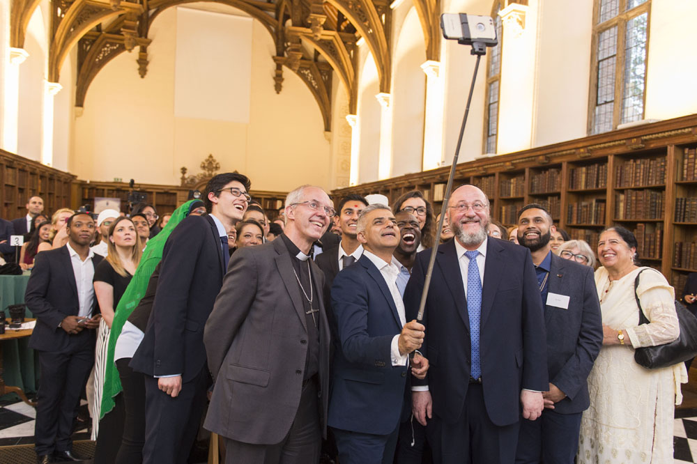Lambeth Palace Interfaith Iftar with  His Grace, Archbishop of Canterbury, Chief Rabbi & Mayor of London Sadiq Khan